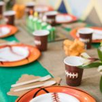 Sports Theme Party In A Box Table Setting