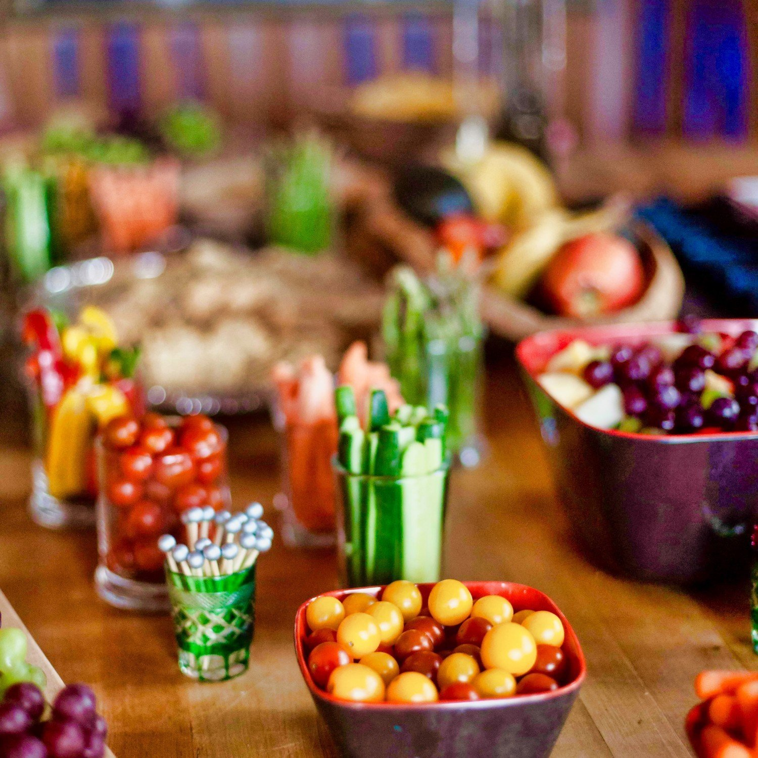 crudites and adult party snacks
