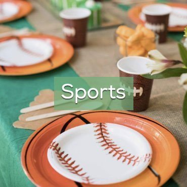 Sports Theme Party In A Box